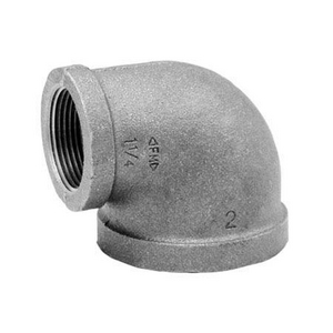 Galvanized MI 150# 90 Elbow-2